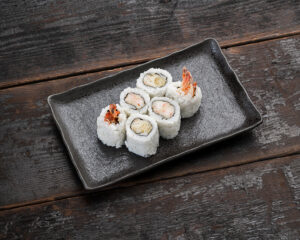 Ebi ten uramaki