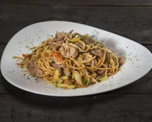 Ramen noodles with chicken