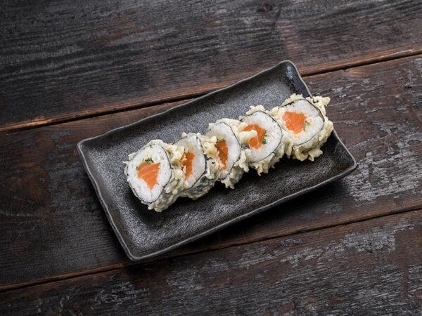 salmon-tempura-maki