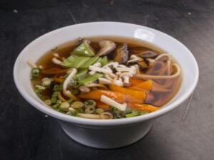 Yasai udon soup