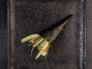 California ebi temaki